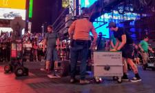 VOLTstacks in Times Square