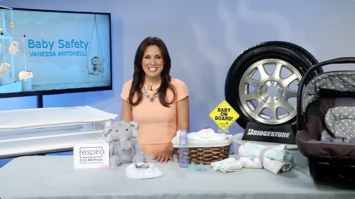 Vanessa Antonelli, One of the Nation's Top Nursery and Playroom Designers Shares Her Top Baby Safety Tips on Tips on TV Blog