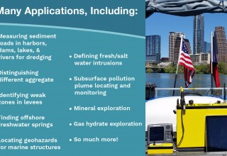 Applications for the SuperSting™ Marine Resistivity System