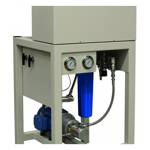 DriSteem High Pressure Atomizing System's Advanced Water Pump Significantly Reduces Maintenance