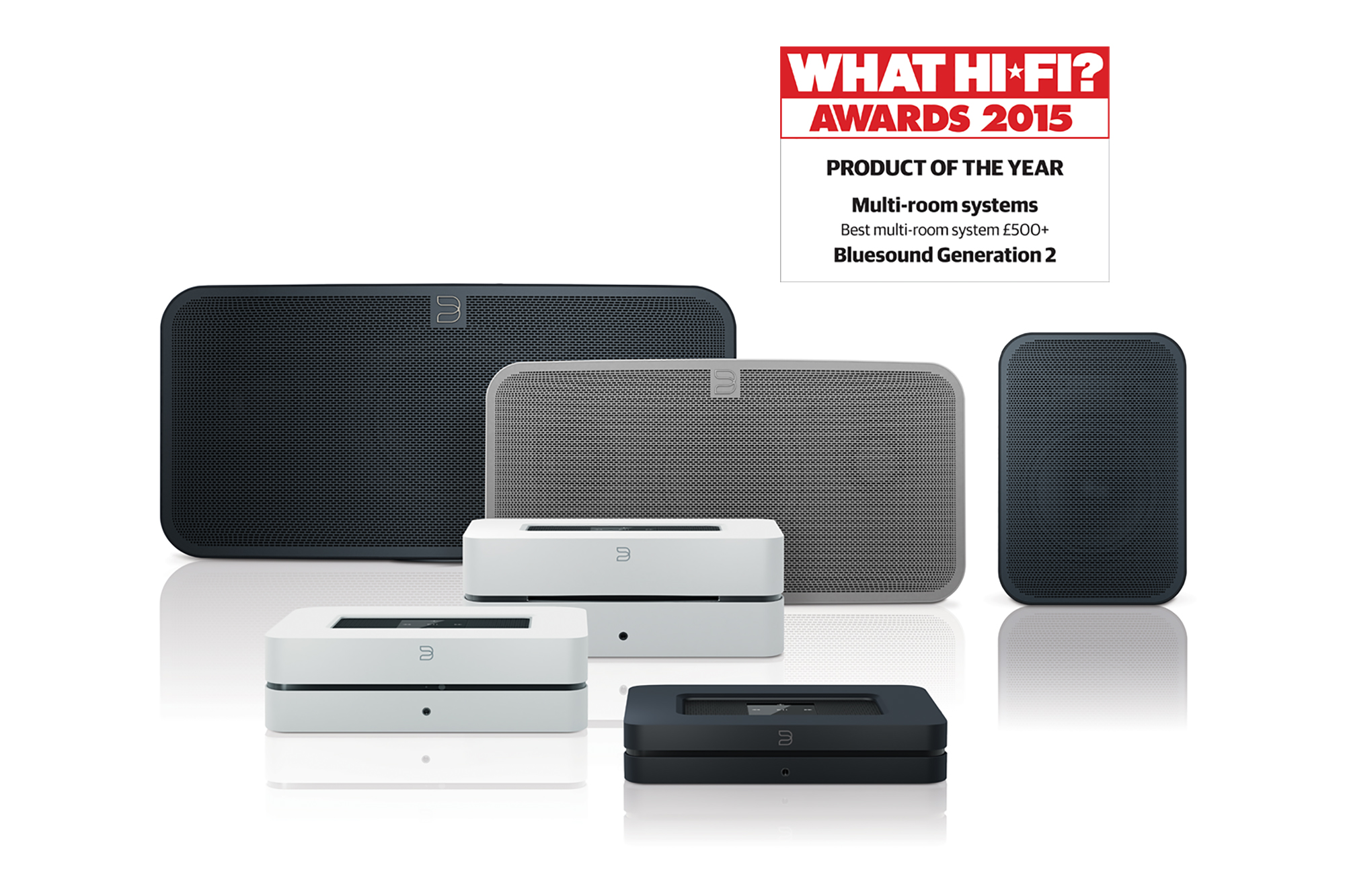Bluesound Wins 2015 What Hi-Fi? Product of the Year Award