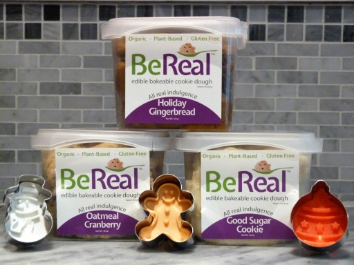 BeReal Doughs Announces Three New Festive Flavors of Gluten-Free Edible Cookie Dough