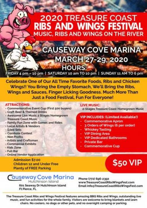 2020 Treasure Coast Ribs and Wings Festival