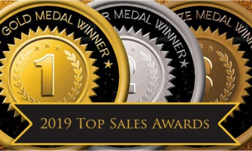 Membrain Wins Two Medals in Top Sales World's 2019 Awards
