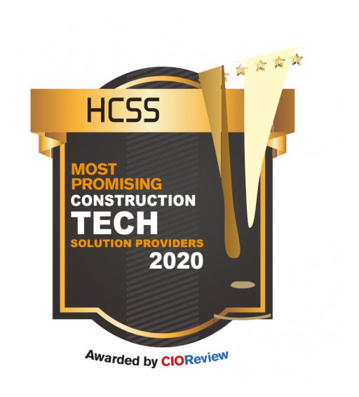 HCSS Aerial Named to Top Construction Tech List in CIO Review
