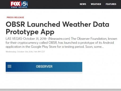 OBSR App Test - On Fox News!