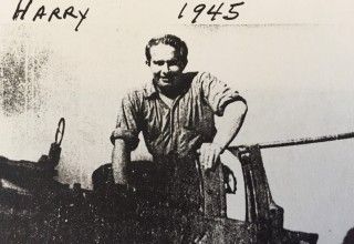 Gunner's Mate Second Class Harry William Heckman, who served aboard LCT 530 on D-Day