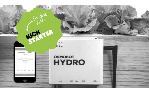 $35,000 and Counting for Low-Cost Aquaponic Monitor on Kickstarter