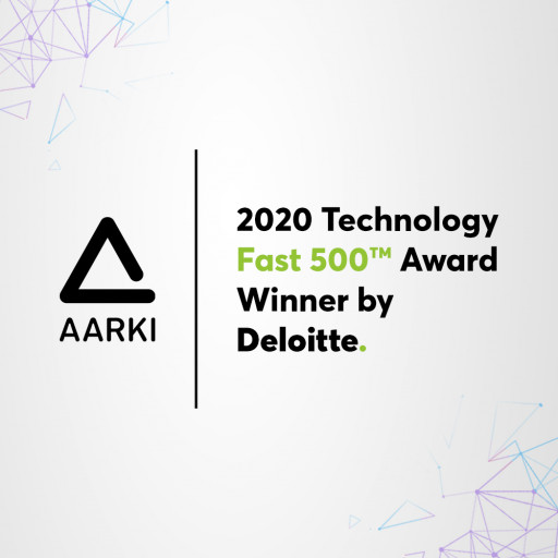 Aarki Ranked Number 111 Fastest-Growing Company in North America on Deloitte's 2020 Technology Fast 500™