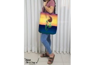High-quality mermaid tote bags