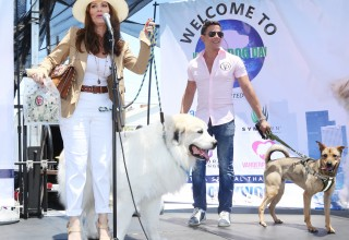 Lisa Vanderpump Welcomes Attendees