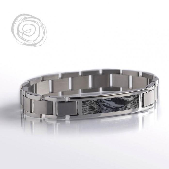Mokume Gane Interchangeable Bracelet
