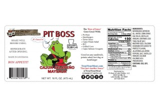 Pit Boss Sauces makes the best sauces from Cajun Country