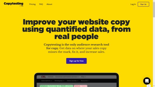 Copytesting Launches the First Data-Driven Copywriting Research Tool