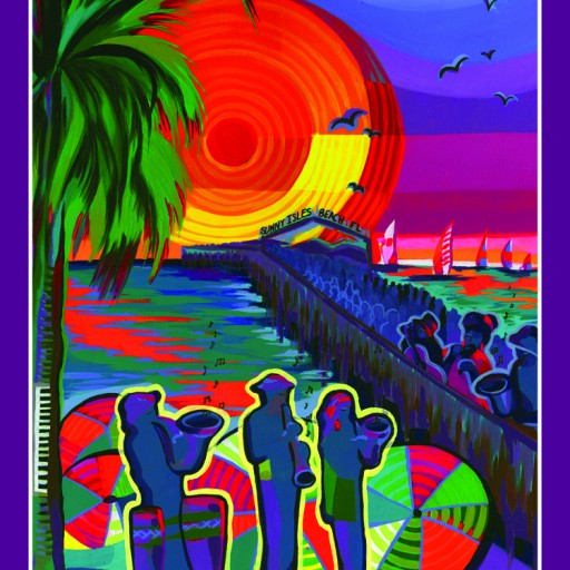 9th Annual Sunny Isles Beach Jazz Fest Annual Poster Art is Chosen