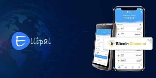Bitcoin Diamond Announces Ellipal as Newest BCD Pay Merchant