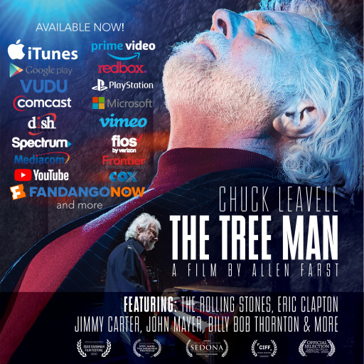 "Niche Productions and PalMar Studios Partners With Gravitas Ventures to Release ""Chuck Leavell: The Tree Man"" Documentary"