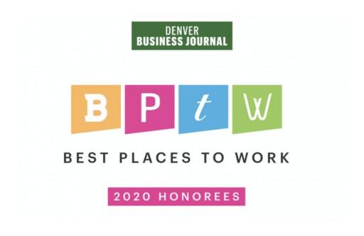 Denver Business Journal Names DevelopIntelligence Best Places to Work Finalist