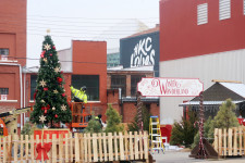 Putting the finishing touches on this year's Winter Wonderland, opening Dec. 19 for KC families