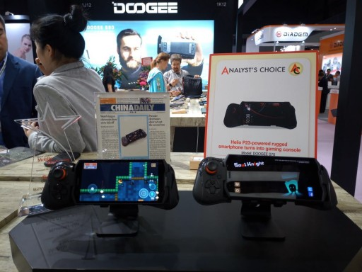 DOOGEE Rugged Phone is the Star of the 2018 Global Sources Mobile Electronics Show