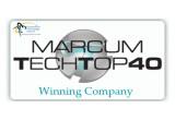 Marcum Tech Top 40 Winner