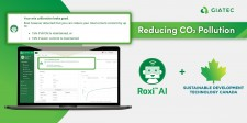How to Reduce CO2 Pollution on Construction Sites? Giatec's SmartRock™ AI Assistant, Roxi™, and SDTC Have the Answer