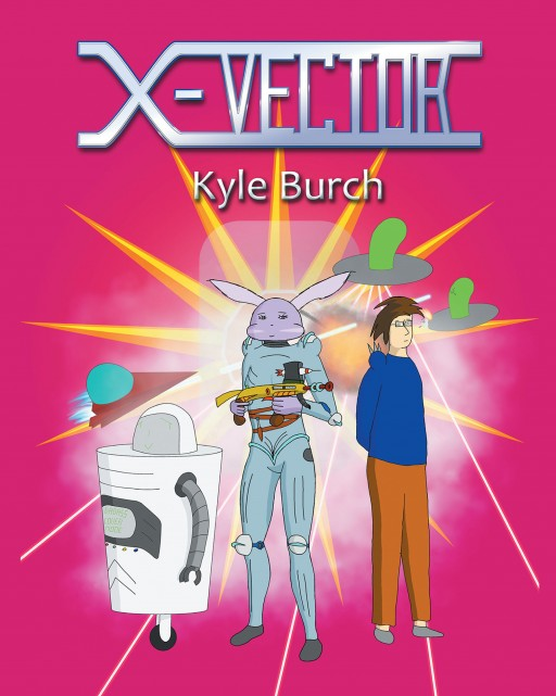 Author Kyle Burch's New Book 'X-Vector' is a Thrilling Intergalactic Graphic Novel