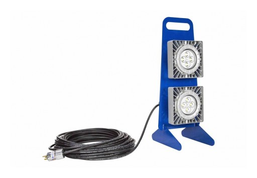Larson Electronics Releases 100W Explosion-Proof LED Light With 2 LED Lamps, Inline Switch, Portable