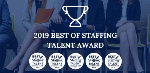 Sparks Group Wins ClearlyRated's 2019 Best of Staffing Talent Award