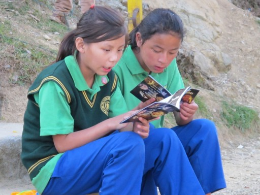 Introducing Tibetan Children in Exile to Their Rights