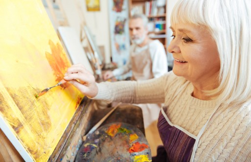 FEBC: The Benefits of Painting for Everyone, Including Alzheimer's Patients