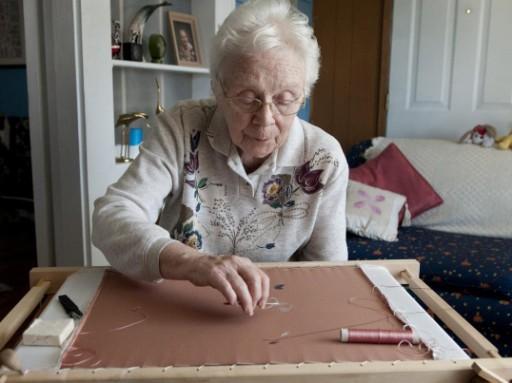 Avamere Resident Shares Passion for Fine Needlework Internationally