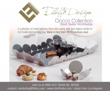 International Home and Housewares Show 2017 is the Official Launch for Elleffe Design Luxury Stainless Steel