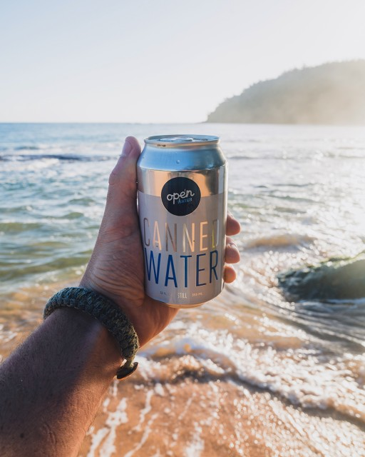 Open Water and World Surf League Collaborate to Eliminate Plastic Bottled Water at Vans US Open of Surfing Presented by Swatch