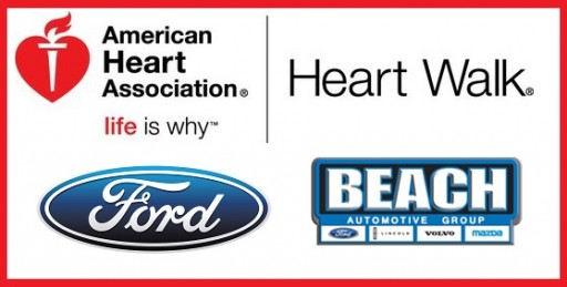 Beach Automotive Group and Beach Ford Help Support the 2016 Waccamaw Heart and Stroke Walk!