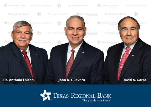 Texas Regional Announces Additions to Board of Directors