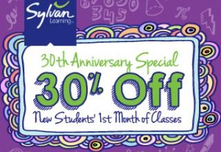 Sylvan's 30 years anniversary