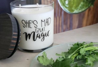 Mad but Magic soy candle