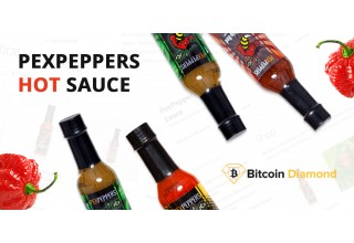 PexPeppers Hot Sauce x Bitcoin Diamond