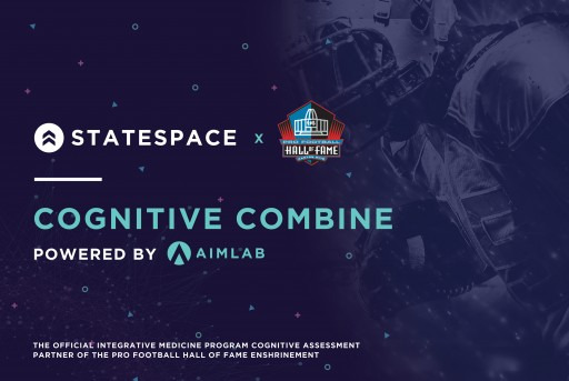 Statespace and Pro Football Hall of Fame Offer Cognitive Performance Evaluations to Heroes of the Game