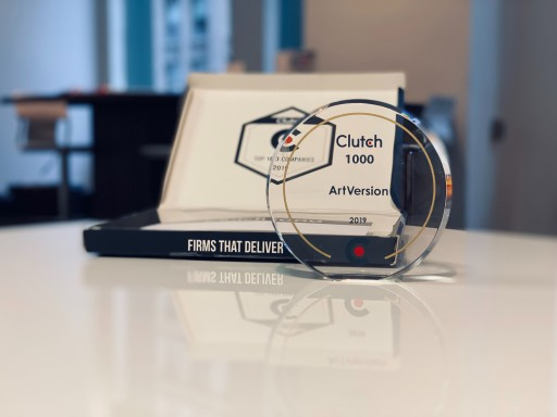 ARTVERSION® Named to Clutch 1000 List for Second Consecutive Year