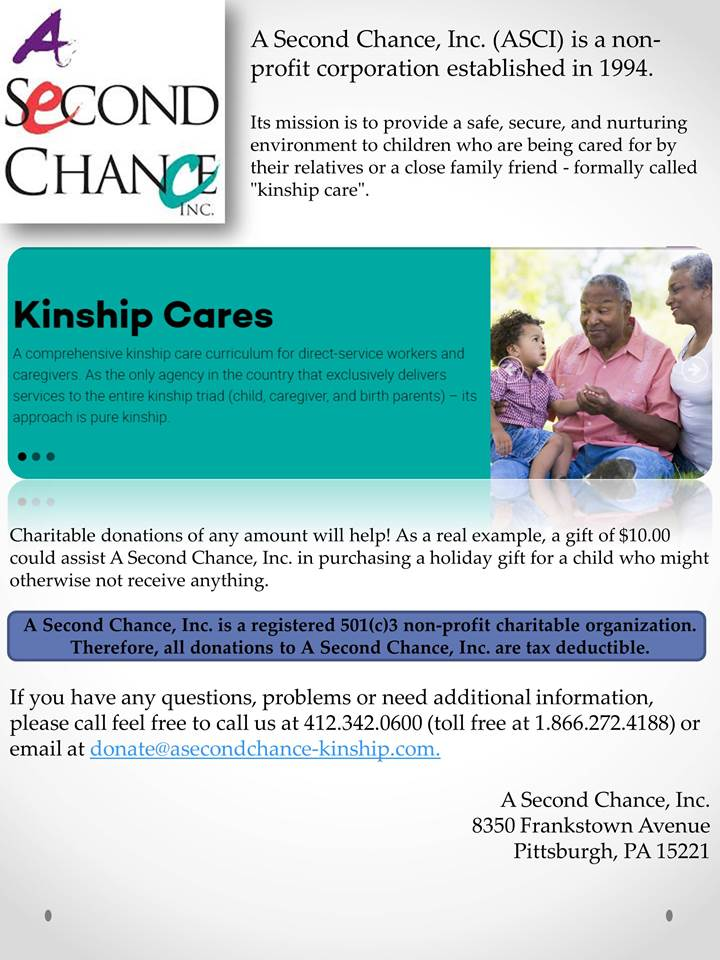 an example of kinship care is