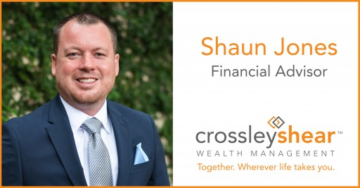 CrossleyShear Wealth Management's Shaun Jones Promoted to Financial Advisor