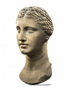 Greek Marble Portrait of Queen Arsinoe II