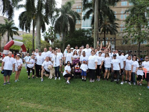 Solstice Benefits Employees Support 2017 Broward Heart Walk
