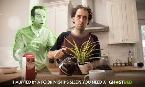 Leading Mattress Retailer GhostBed Launches New Campaign Featuring Ghostly Spokesperson