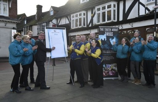 UK Town Mayor Takes Lead in Mayors Against Drugs National Campaign