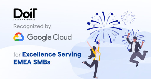 DoiT International Recognized by Google Cloud for Excellence Serving EMEA SMBs