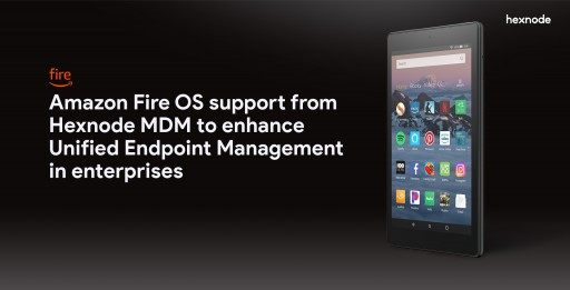 Amazon Fire OS Support From Hexnode MDM to Enhance Unified Endpoint Management in Enterprises