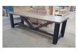 The Golds' New Handcrafted Table